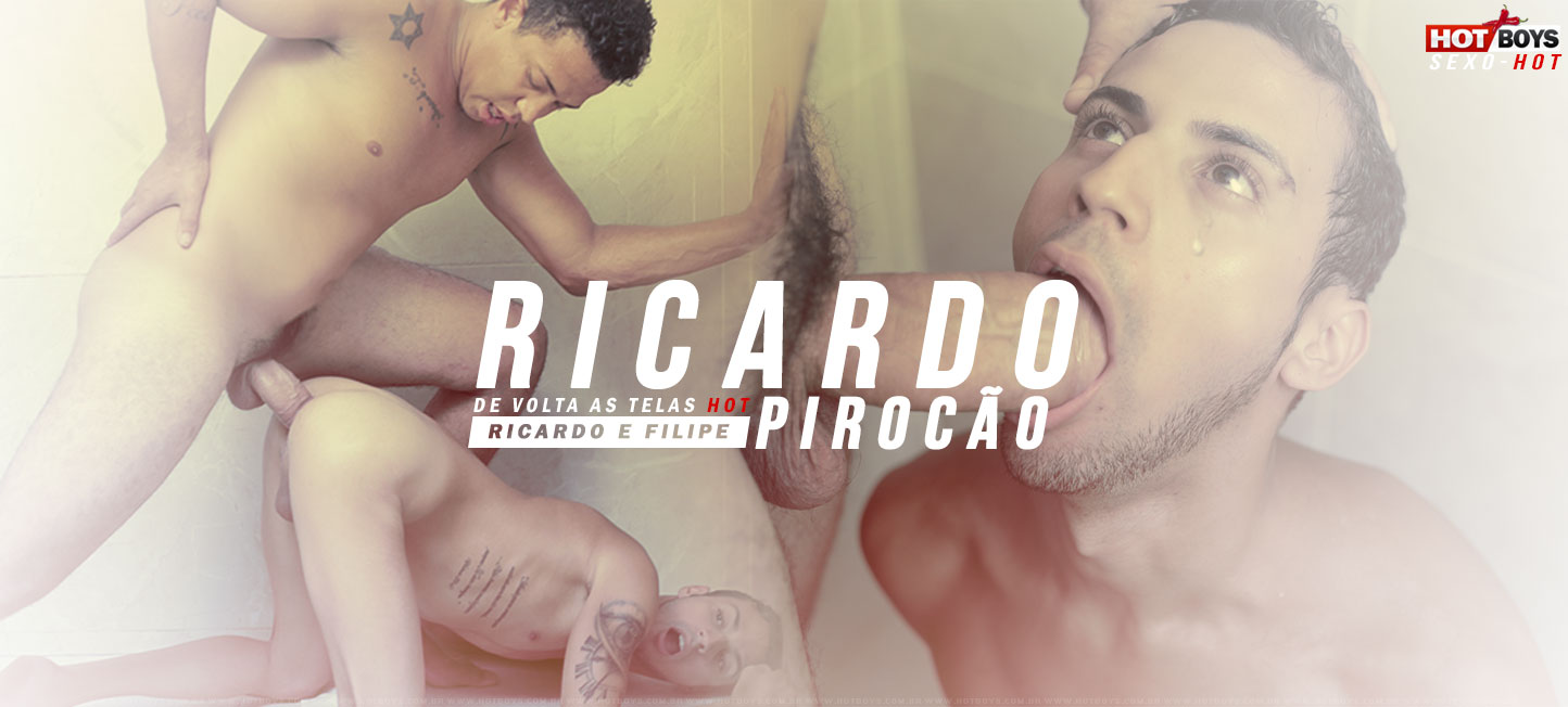 Novinho levando Pirocada do Ricard�o